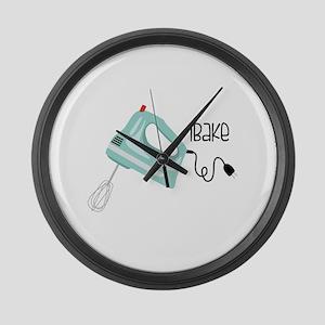 iBake Large Wall Clock