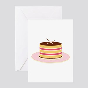 Fancy Cake Greeting Cards