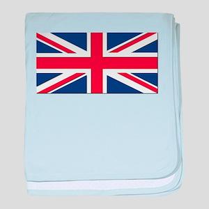 Flag of the United Kingdom baby blanket