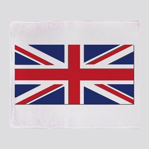 Flag of the United Kingdom Throw Blanket