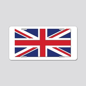 Flag of the United Kingdom Aluminum License Plate
