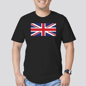 Flag of the United Kin Men's Fitted T-Shirt (dark)