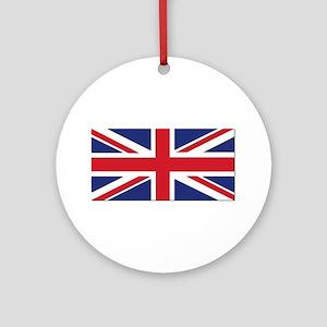 Flag of the United Kingdom Ornament (Round)