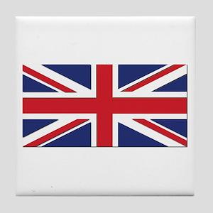 Flag of the United Kingdom Tile Coaster