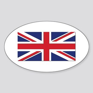 Flag of the United Kingdom Sticker (Oval)