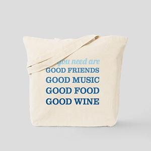 Good Friends Food Tote Bag