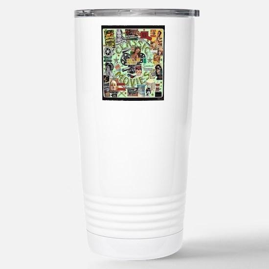 Movie Night Stainless Steel Travel Mug