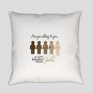 The Gift of Life Everyday Pillow