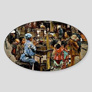 The Ameya - Robert Frederick Blum a Sticker (Oval)