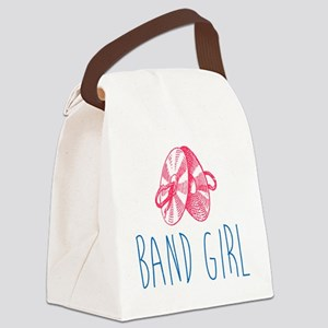 Band Girl Cymbals Canvas Lunch Bag