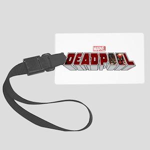 Deadpool Logo Large Luggage Tag