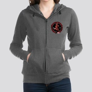 Deadpool Sketch Zip Hoodie