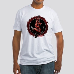 Deadpool Sketch Fitted T-Shirt