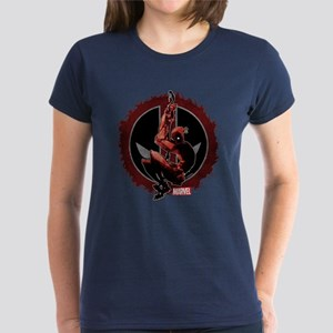 Deadpool Sketch Women's Dark T-Shirt