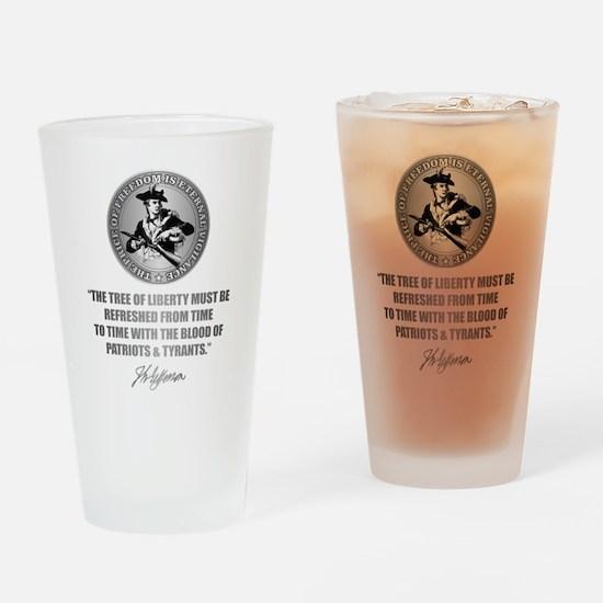 (Eternal Vigilance) Blood of Patrio Drinking Glass