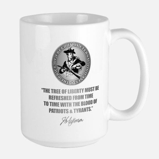 (Eternal Vigilance) Blood of Patriots Large Mug