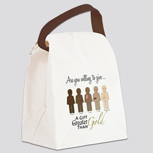 The Gift of Life Canvas Lunch Bag