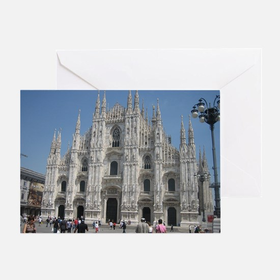 The Milan Cathedral Greeting Card