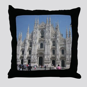 The Milan Cathedral Throw Pillow