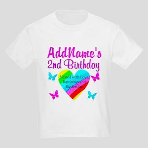 JOYFUL 2 YR OLD Kids Light T-Shirt