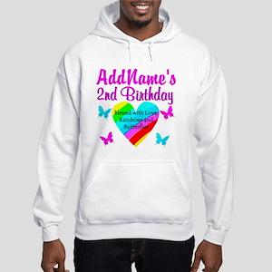 JOYFUL 2 YR OLD Hooded Sweatshirt