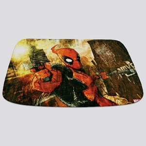 Deadpool Brush Bathmat
