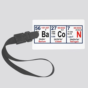 Elements of Bacon Luggage Tag