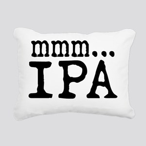 Mmm... IPA Rectangular Canvas Pillow