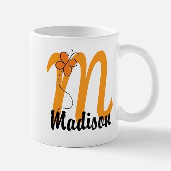 Custom M Monogram Mug