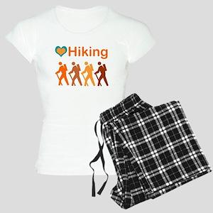 Love Hiking With Heart Women'S Light Pajamas
