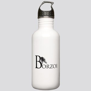 Borzoi Logo Stainless Water Bottle 1.0L