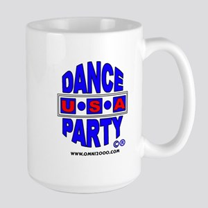 DANCE PARTY USA LARGE COFFEE MUG