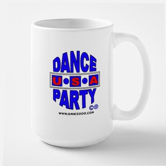 DANCE PARTY USA LARGE COFFEE MUG