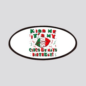 KISS ME Cinco de Mayo Birthday Patches