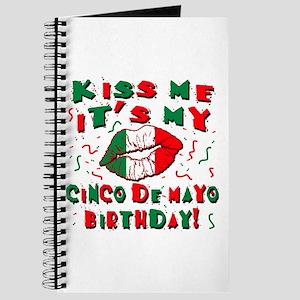 KISS ME Cinco de Mayo Birthday Journal