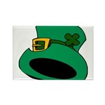 Leprechaun Hat with Shamrock Magnets