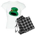 Leprechaun Hat with Shamrock Pajamas
