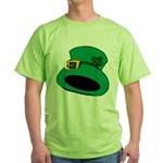 Leprechaun Hat with Shamrock T-Shirt