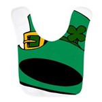 Leprechaun Hat with Shamrock Bib