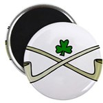 Shamrock and Pipes Magnets
