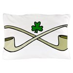 Shamrock and Pipes Pillow Case