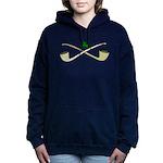 Shamrock and Pipes Hooded Sweatshirt