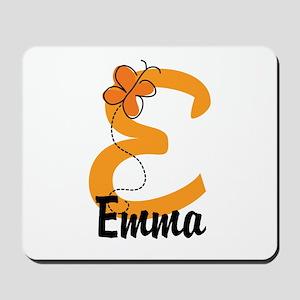 Custom E Monogram Mousepad