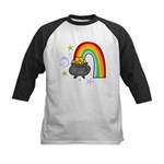 Rainbow with Crock of Gold Baseball Jersey