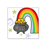 Rainbow with Crock of Gold Sticker