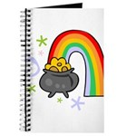 Rainbow with Crock of Gold Journal