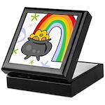 Rainbow with Crock of Gold Keepsake Box