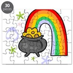 Rainbow with Crock of Gold Puzzle