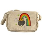 Rainbow with Crock of Gold Messenger Bag