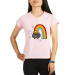 Rainbow with Crock of Gold Performance Dry T-Shirt